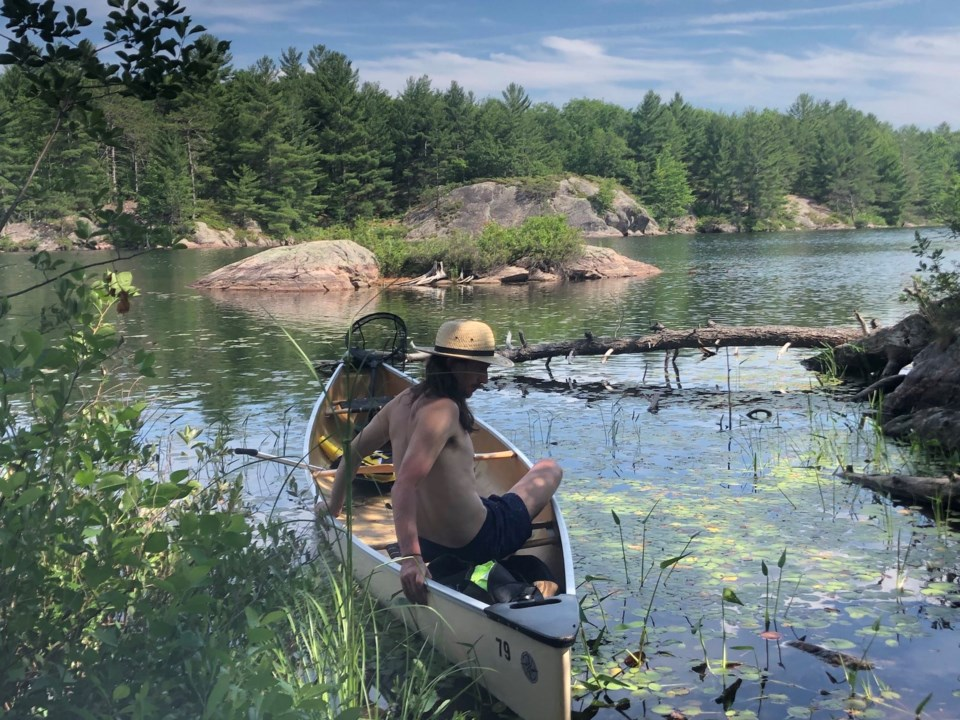 Hannah James Buzzard Lake, Kawartha Highlands Provincial Park, Ontario