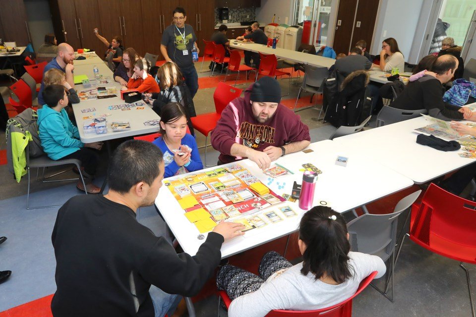 It was a full house at Professor Maple's Pokémon Gym event held at the Barrie Public Library on Dean Avenue on Sunday, Jan. 14, 2018. Visitors learned how to play the game in a workshop setting with others.