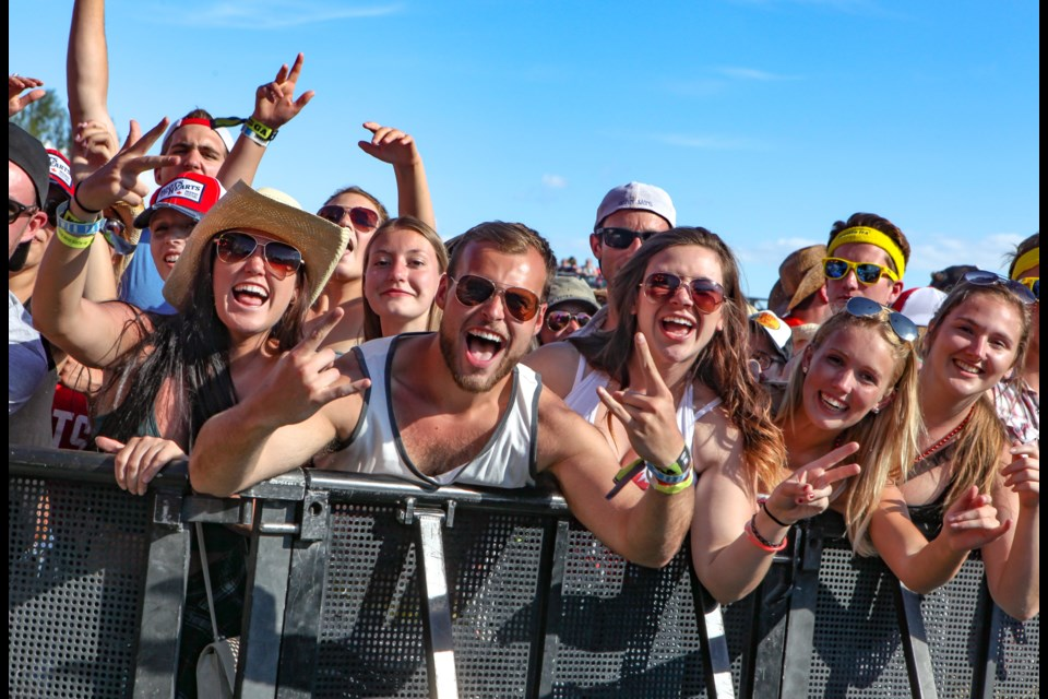 The popular Boots and Hearts Festival is a victim of COVID-19 - for the second straight summer. File Photo
