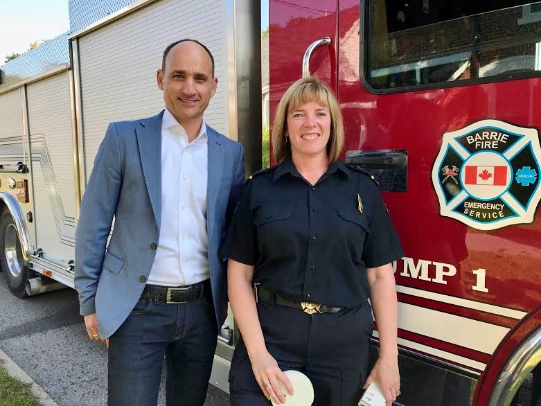2018-01-16 David Visentin and Samantha Hoffmann
