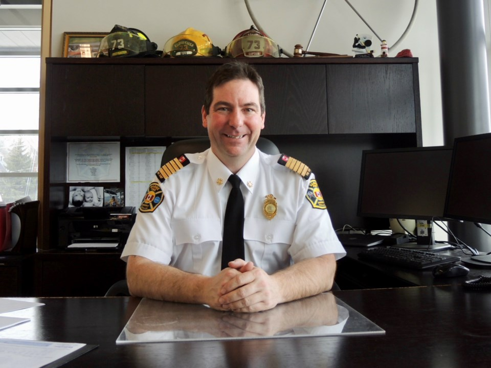 2018-02-20 Barrie Fire Chief Cory Mainprize