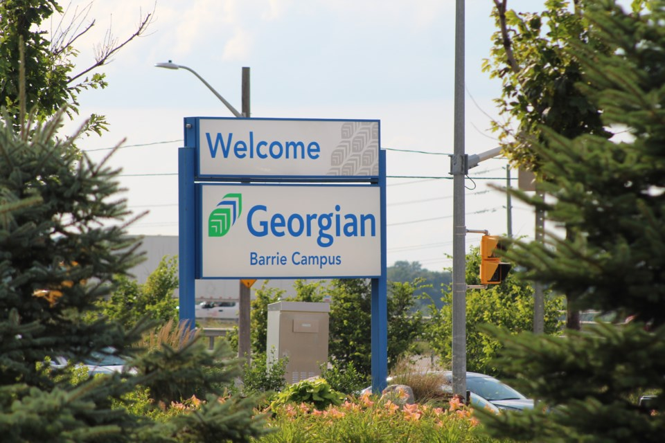 Georgian College's Barrie campus is shown in a file photo. Raymond Bowe/BarrieToday