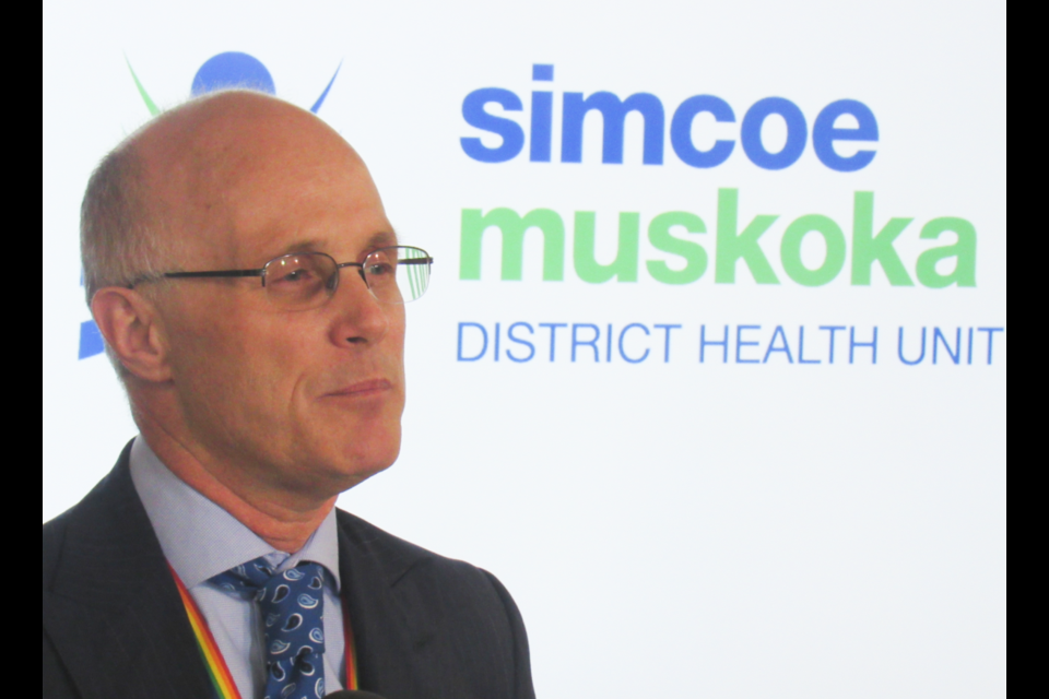 Dr. Charles Gardner, medical officer of health with the Simcoe Muskoka District Health, expects to see more COVID-19 cases 'in the near future.' Shawn Gibson/BarrieToday