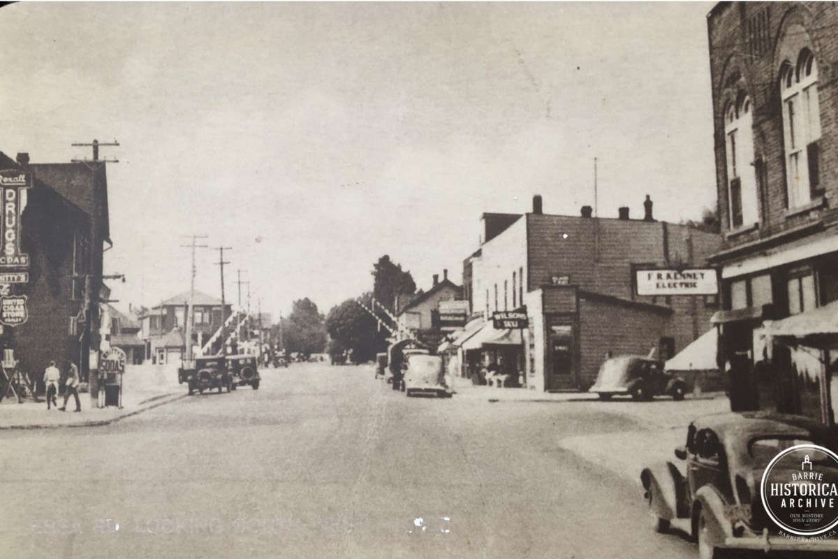 THEN AND NOW: Downtown Allandale