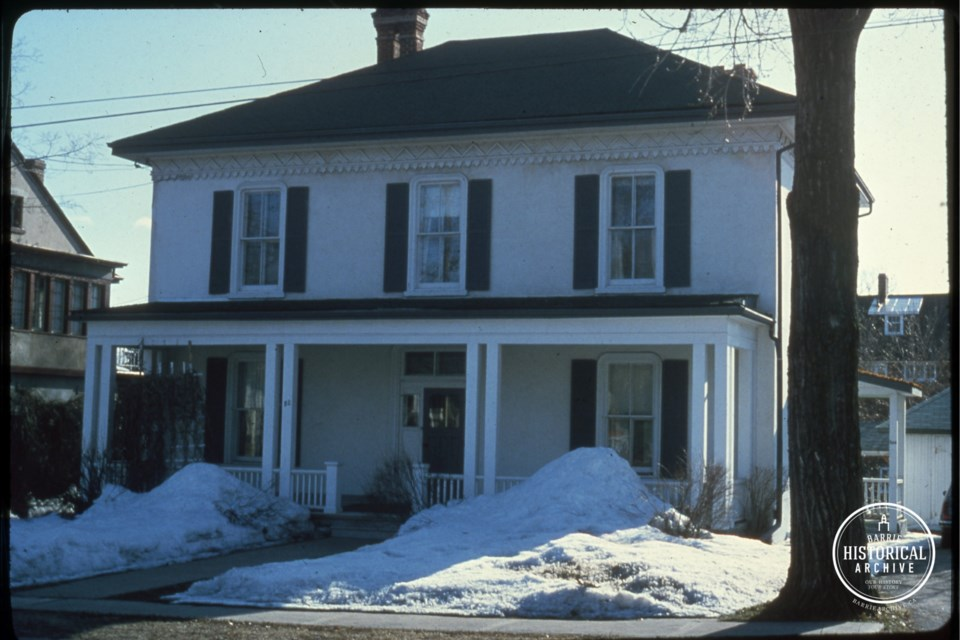 The Barrie address at 80 Toronto St., as it appeared in the 1970s.