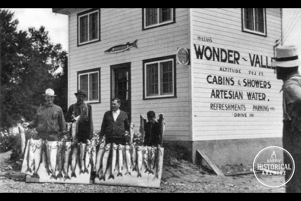 Wonder Valley as it appeared circa 1939. George Brown McLean is shown at the far right.