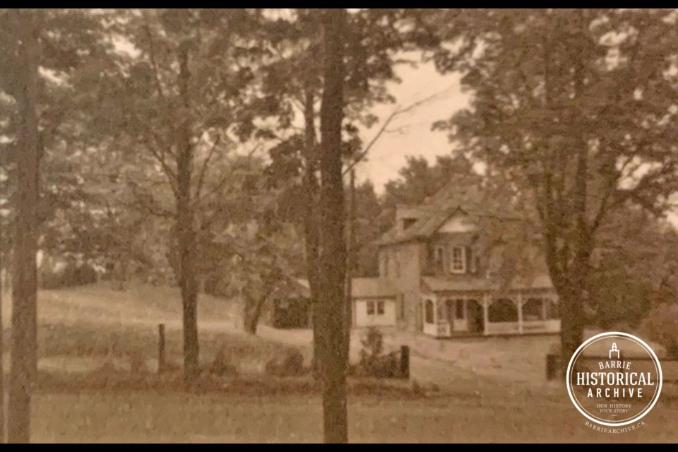 The Holgate House as it appeared in the 1960s.