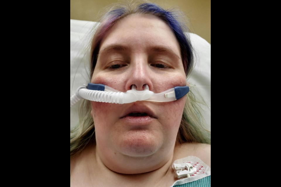 Kim Webb's stay in ICU was a scary one and the Barrie woman hopes everyone will take the virus seriously.