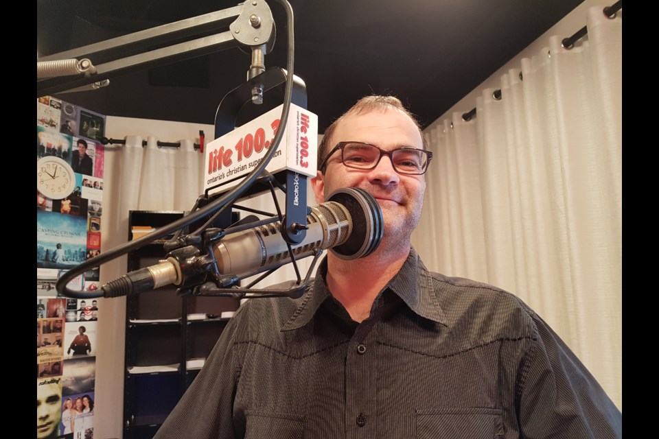 Life 100.3 operations manager Steve Jones is getting ready for Saturday's 20th anniversary party. Shawn Gibson/BarrieToday