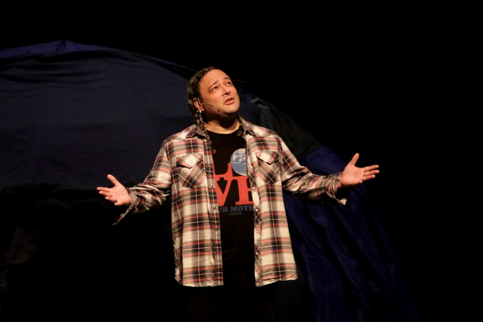 """Mno Bimaadiziwin (meaning, """"A Good Life"""") began showing Friday and runs until Oct. 3 at the Orillia Opera House."""