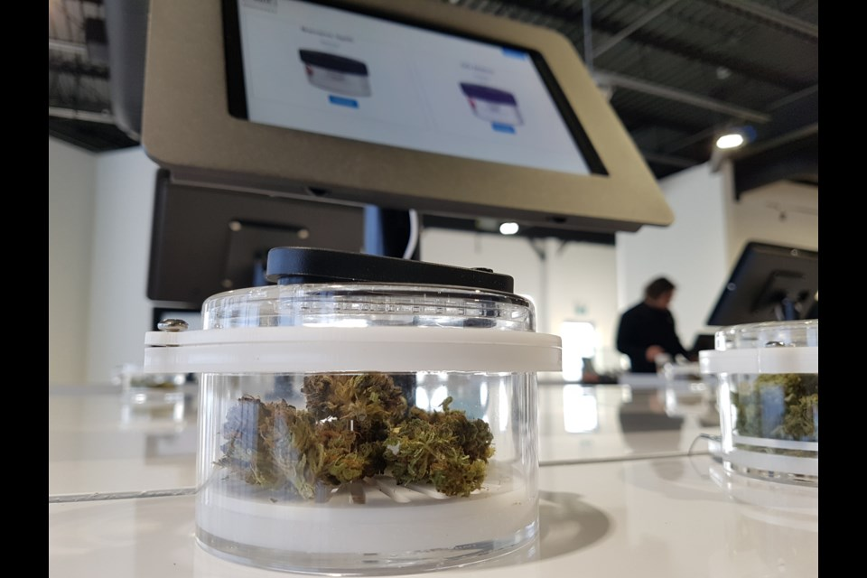 One Plant, Barrie's first retail cannabis store, opened on Friday, Jan. 17, 2020. Shawn Gibson/BarrieToday