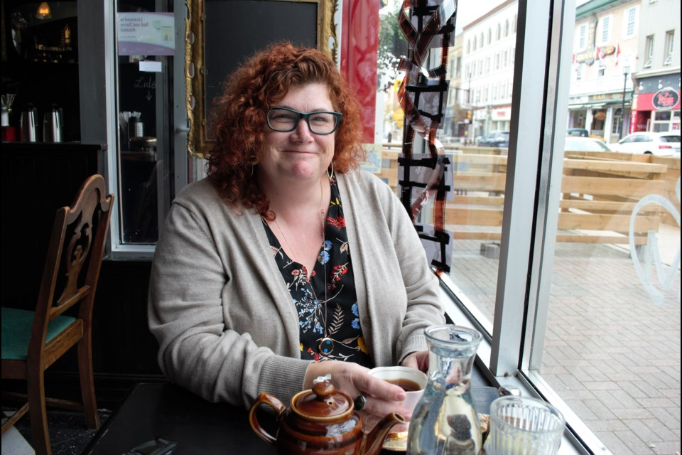 Tara VanderMeulen, assistant organizer for The Haunted Barrie meetup group. Jessica Owen/BarrieToday