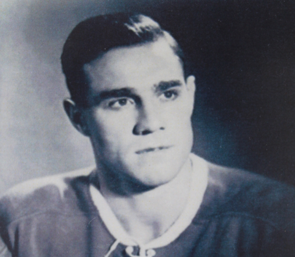 Barrie resident Paul Meger is shown as a member of the Montreal Canadiens in the early 1950s. Photo supplied