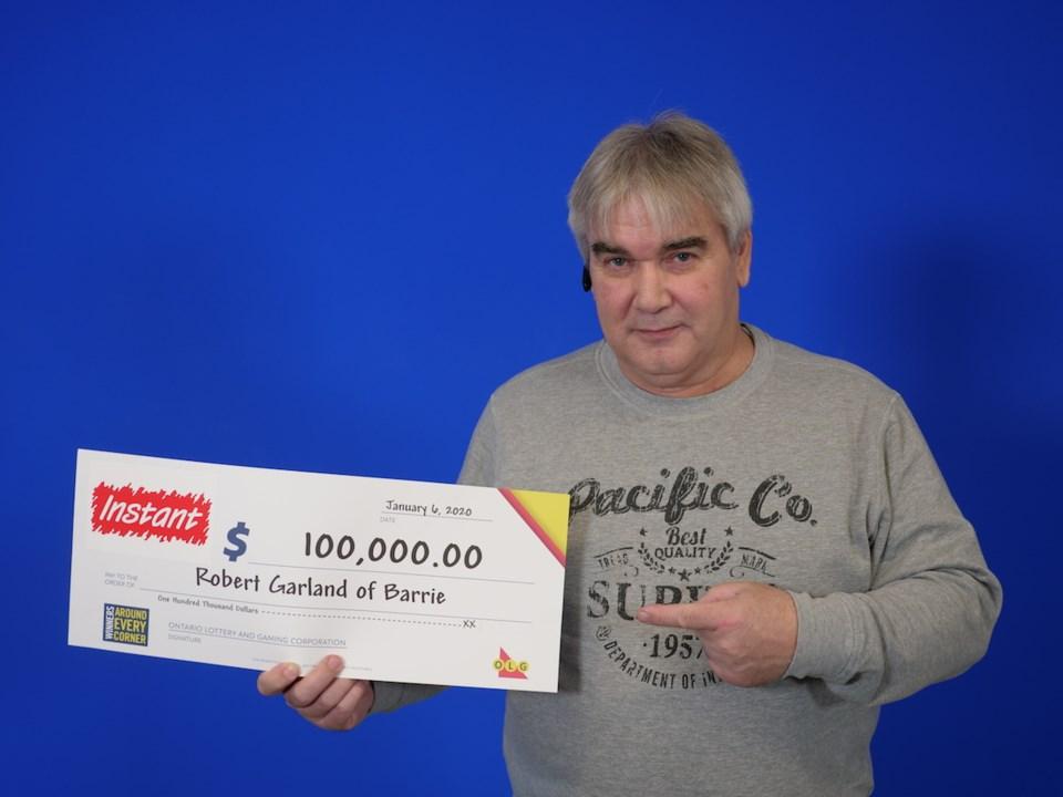 2020-01-14 OLG winner Robert Garland