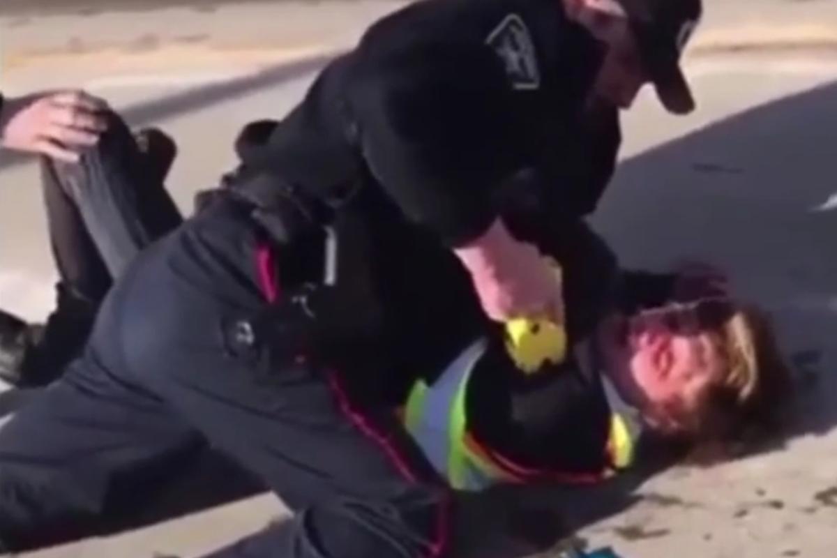 OPP appeals for witnesses in violent confrontation between Barrie officer, skateboarder (VIDEO)