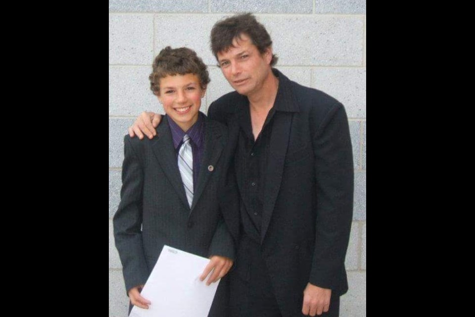 Nick and James Pasowisty are shown in an undated photo.