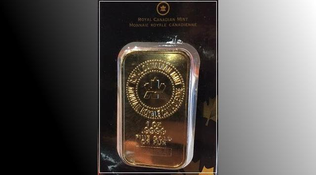 2017-12-22 Fake Gold Bar Barrie Police