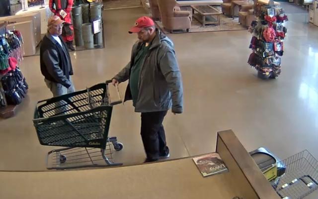 Barrie Cabelas theft suspect