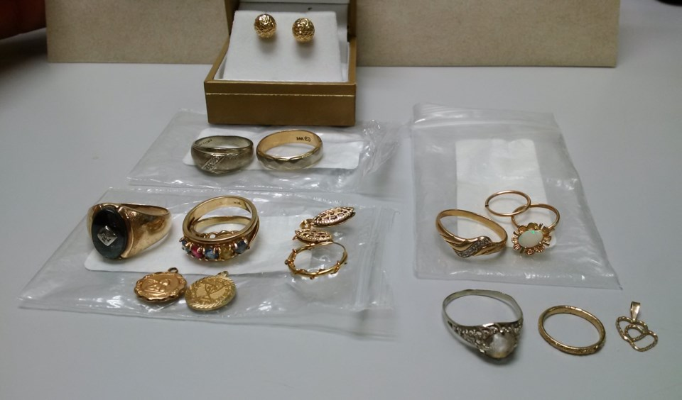 Recovered Jewelry
