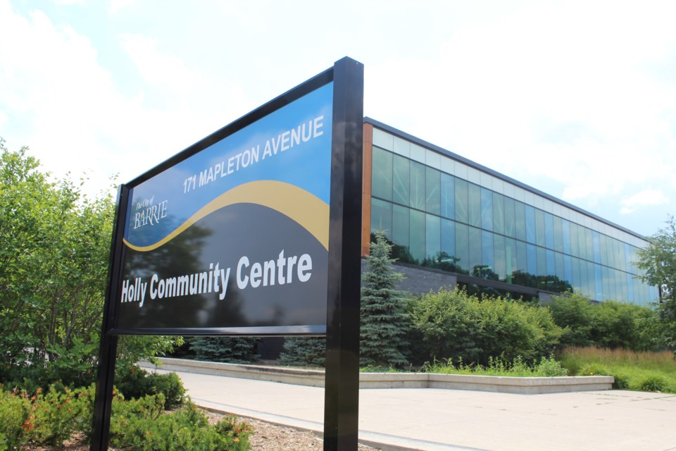 Holly Community Centre in Barrie. Raymond Bowe/BarrieToday