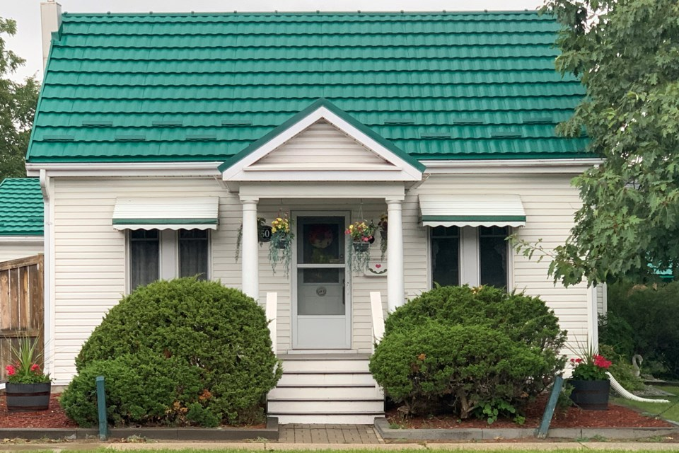 This house, at 50 Tiffin St., is a classic example of some of the original architecture of the old Allandale neighbourhood. Ian McInroy for BarrieToday