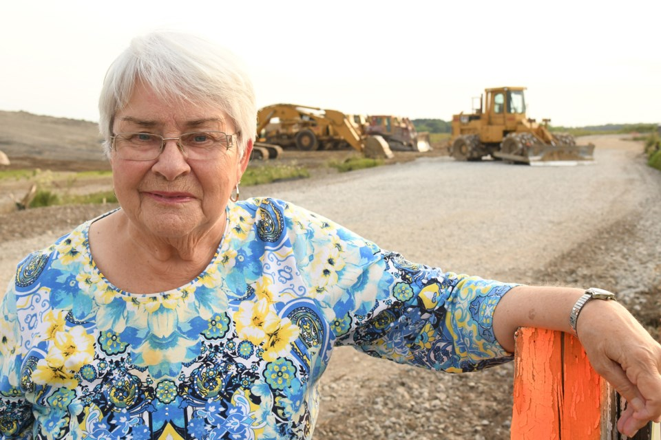 Essa Township resident Margaret Cochrane has a special connection to the massive development underway at the southwest corner of McKay Road West and Veteran's Drive in the city'€™s south end. Her father-in-law, Joseph Cochrane (prominent farmer and Township of Innisfil reeve), hosted the 1967 International Plowing Match on the property.