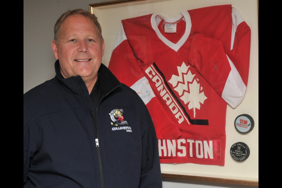 Greg Johnston scored two goals for Canada when the team won a gold medal at the 1985 World Junior Championships. The former NHLer has used his skills from on and off the ice to become a part of the Barrie Police Service and is now also the coach of the Collingwood Colts Junior 'A' squad. Ian McInroy for BarrieToday