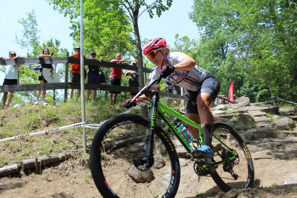 Hardwood Ski and Bike, located in Oro-Medonte Township, hosted the XCO MTB Canadian Championships on Saturday, July 20 2019. Racing continues on Sunday. Raymond Bowe/BarrieToday