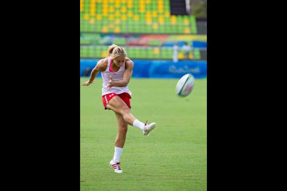 Megan Lukan is a top-flight rugby player and Barrie natice.