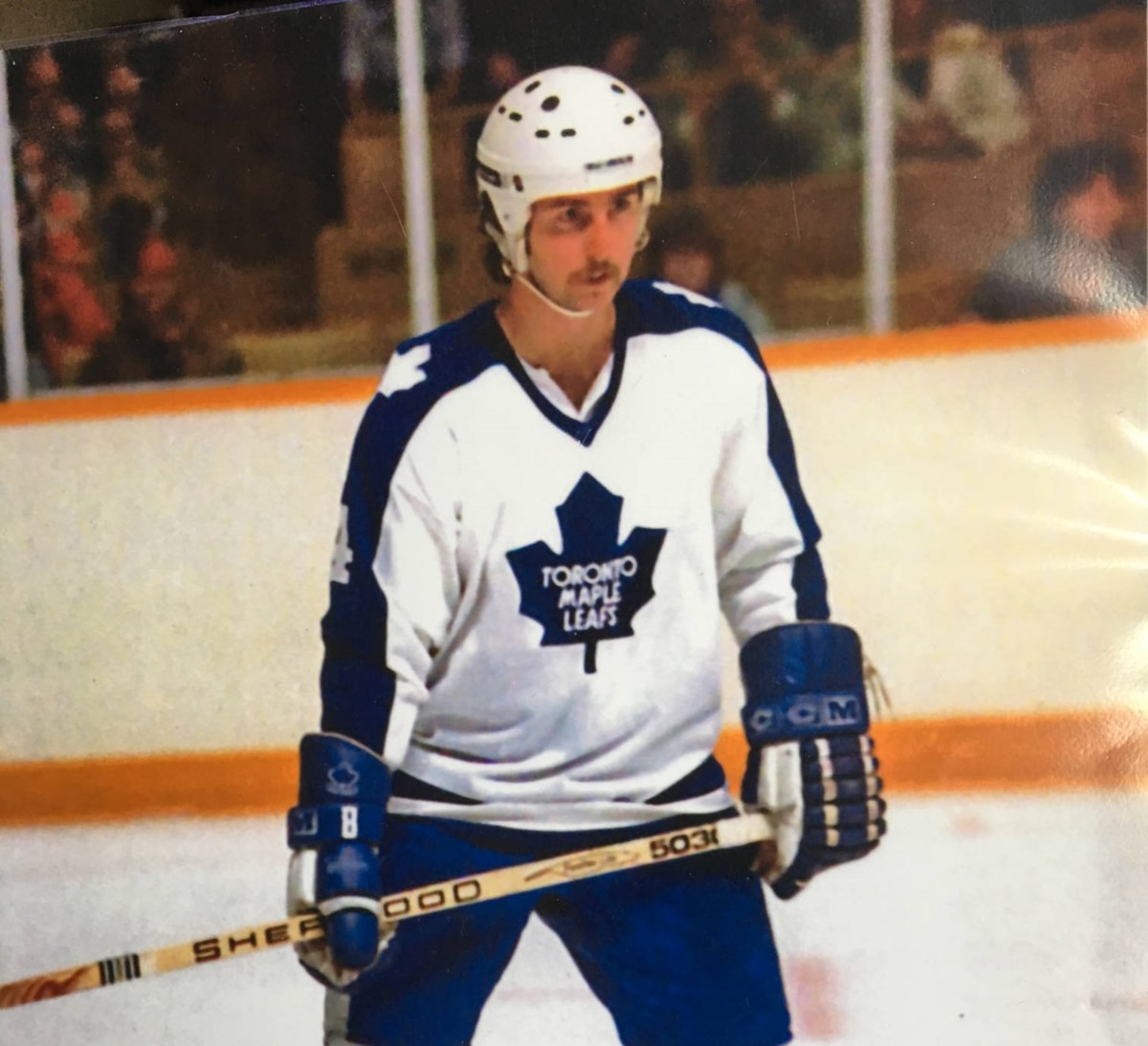 Barrie resident, former NHLer keeps his stick on the ice as Maple Leafs alumni president