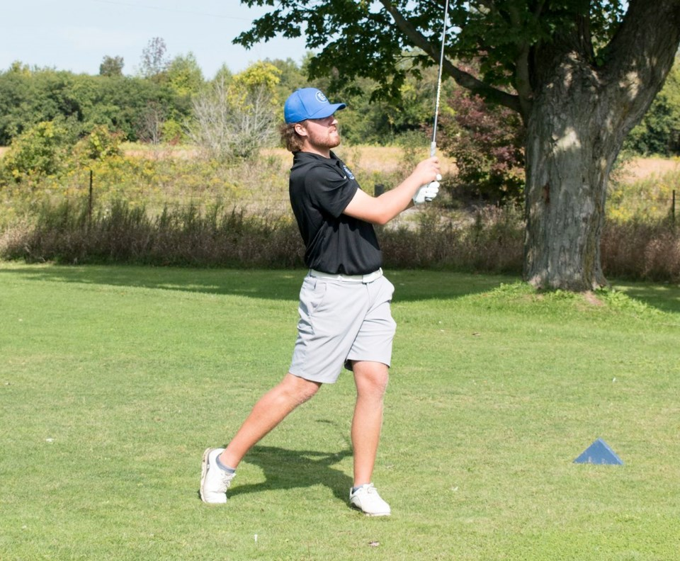 2021-09-14 Georgian Grizzlies golf Josh Taylor