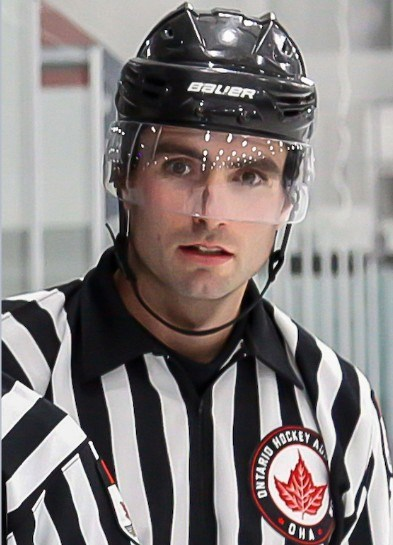 OHA OFFICIATING AWARDS arcan barrie