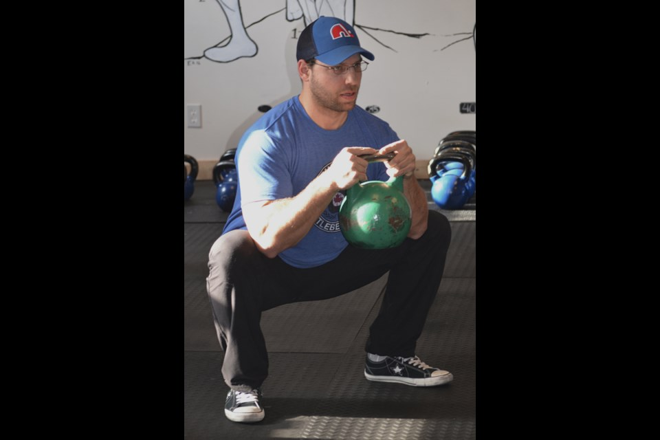 Chris Presta, strength coach and co-owner of Barrie Kettle Bell Club