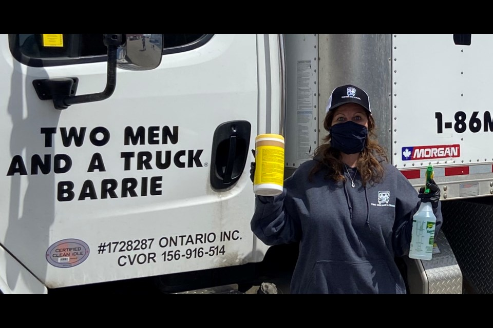 Barrie location owner Tracey Brohm takes the health and safety of staff and customers seriously. Photo supplied
