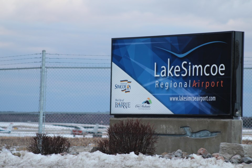 Lake Simcoe Regional Airport is located north of Barrie on Line 7 in Oro-Medonte Township. Raymond Bowe/BarrieToday