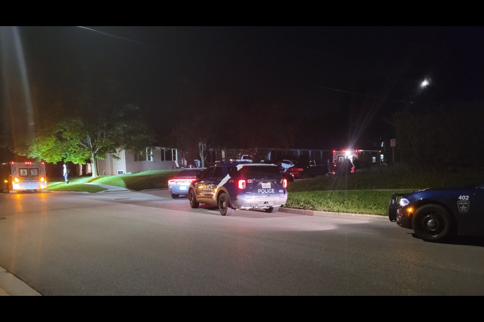Barrie police responded to an assault in progress Monday night in the area of Vancouver and Steel streets.