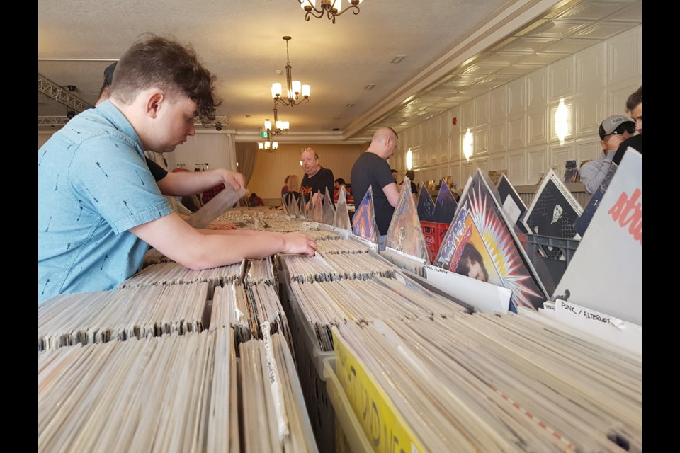 Records as far as the eye can see, May 26, 2019. Shawn Gibson/BarrieToday