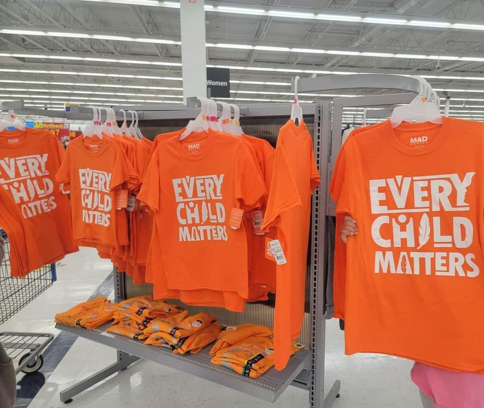 Barrie woman urges people to consider where they get their orange shirts