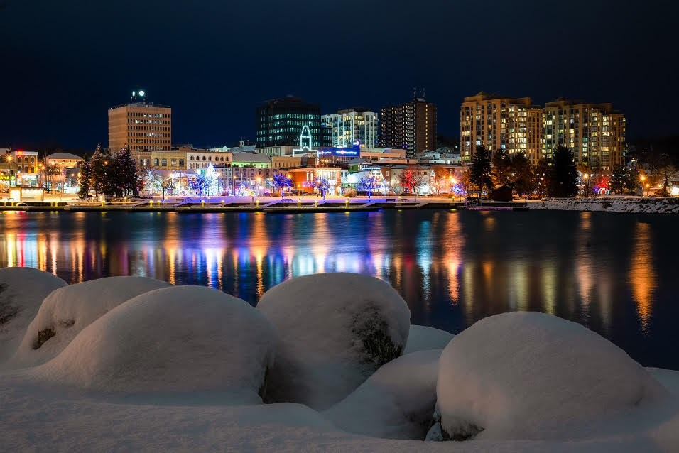 'Snowballs and Twinkling Lights' will adorn the front of the  2019 City of Barrie Christmas card. Photo supplied