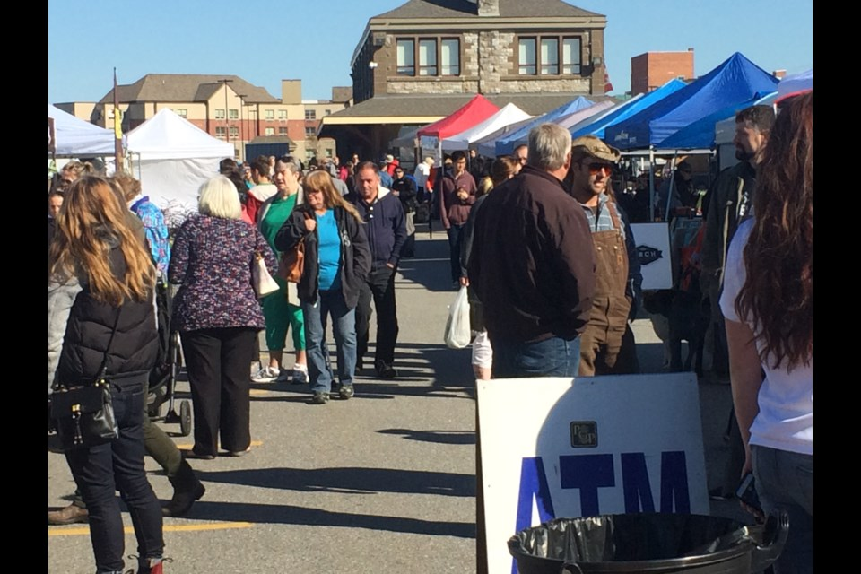 North Bay's Farmer's Market well attended on opening day.