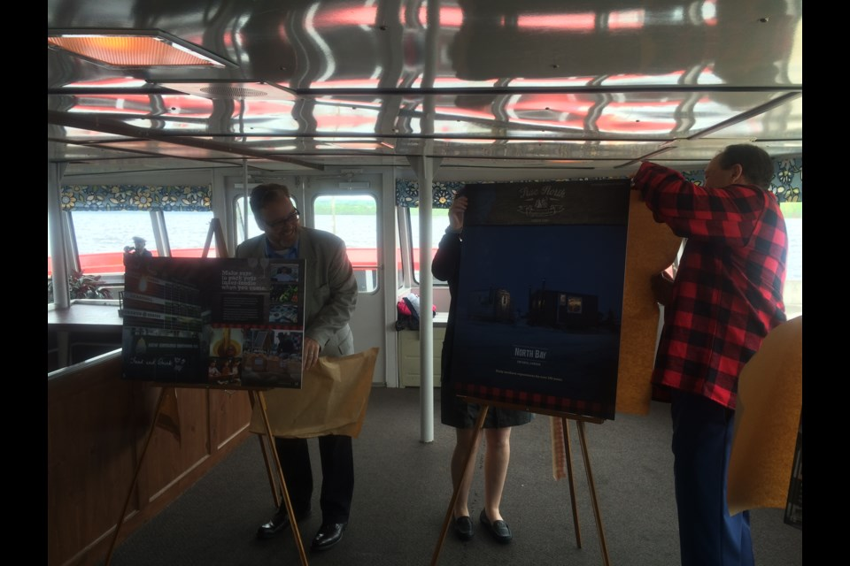 Tourism North Bay unveils new brand and visitors' guide.  Photo by Linda Holmes.
