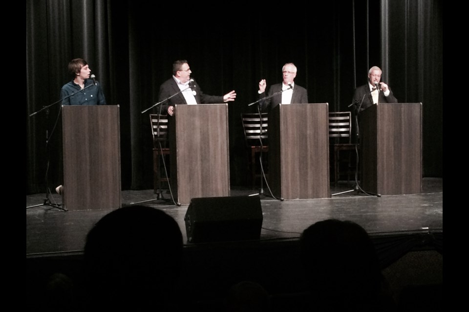 Chamber of Commerce Meet the Candidates Debate made for some lively conversation