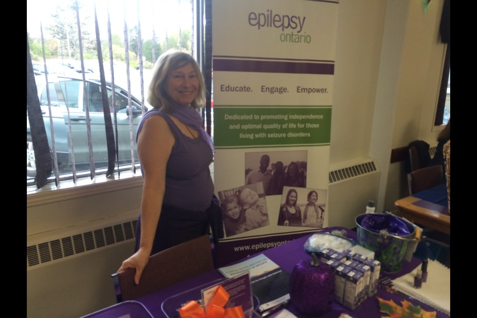 Jo-Anne Welton, volunteer executive director for Epilepsy North Bay, wants people to know help is available locally.