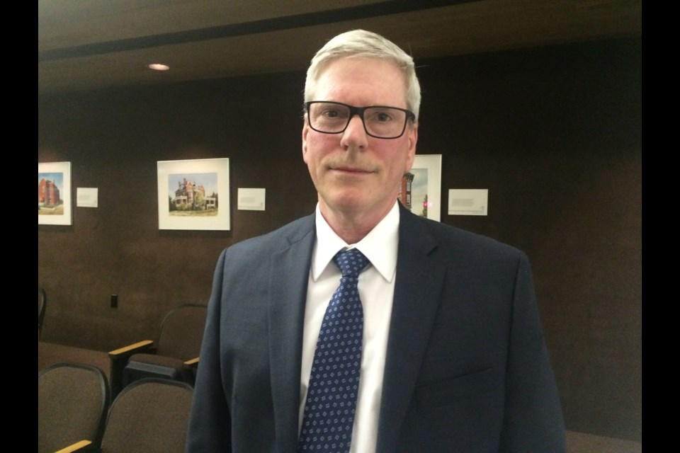 David Euler was appointed by council as North Bay's new chief administrative officer. (Linda Holmes photo)