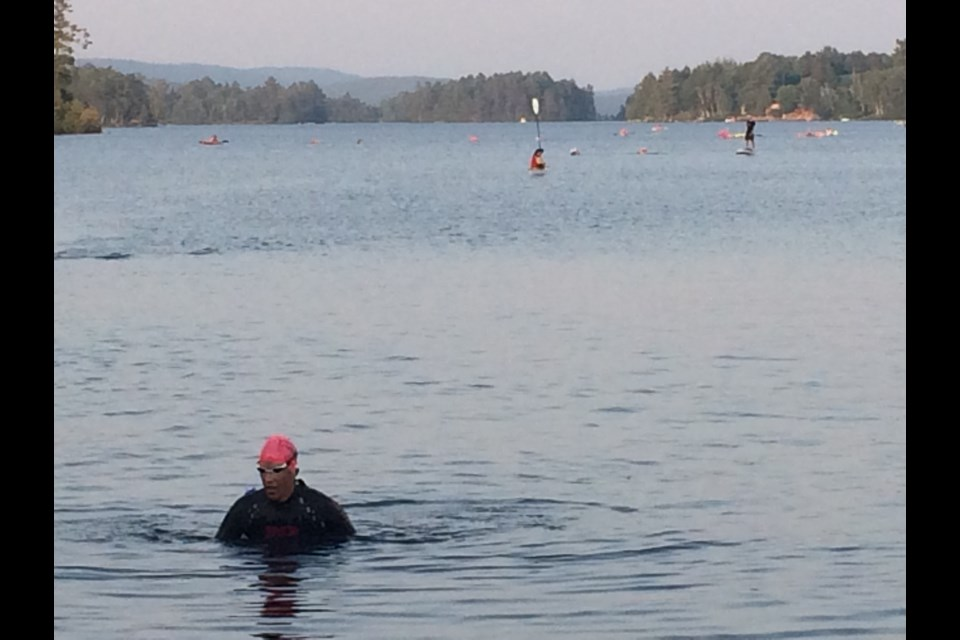 "Shorter season, shorter distances but swimmers are happy Tour de Trout is a ""go"" for this season.