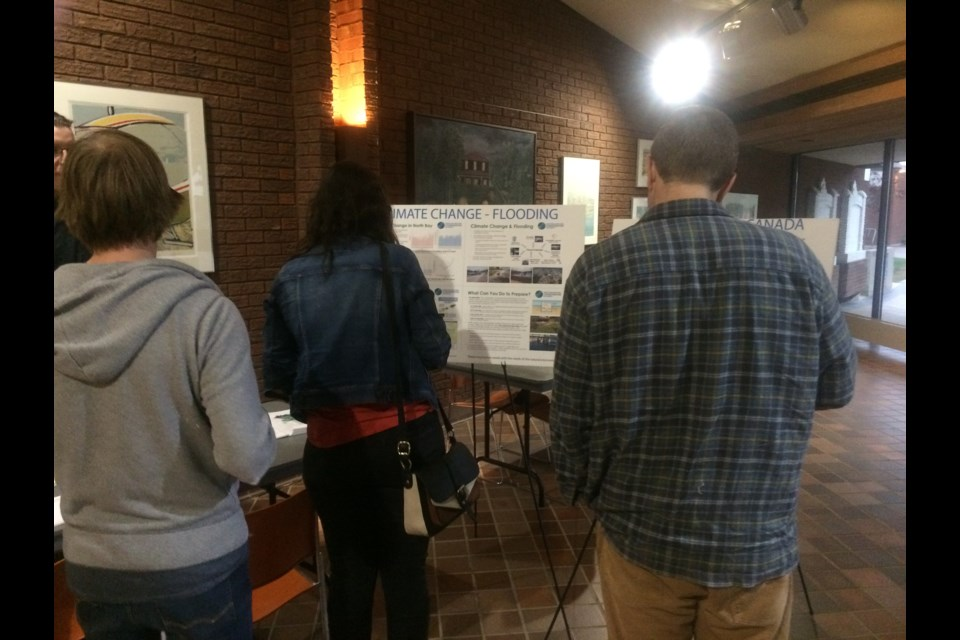 North Bay residents attend  Environmental Sustainability and Climate Change open house in September.
