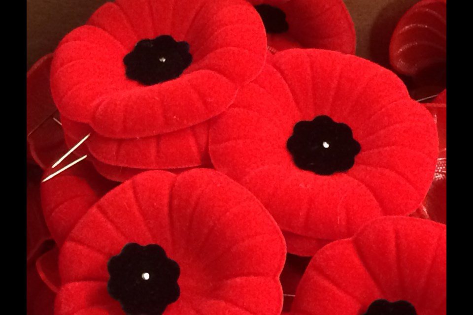 Royal Canadian Legion poppy campaign raises funds in support of veterans and their families