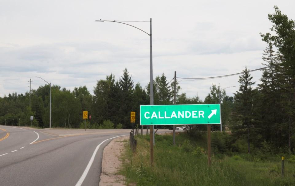 20210612~Callander Town highway Sign~David Briggs