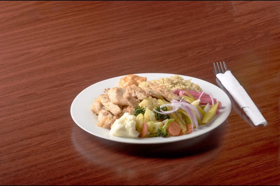 Shawarma platter a customer favourite at the Cedar Tree Lebanese Restaurant North Bay