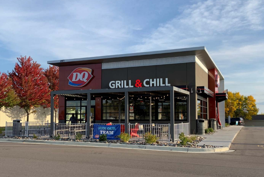 The new Dairy Queen in Sturgeon Falls will look very similar to the one depicted here, all part of the restaurant's updated look / Photo supplied